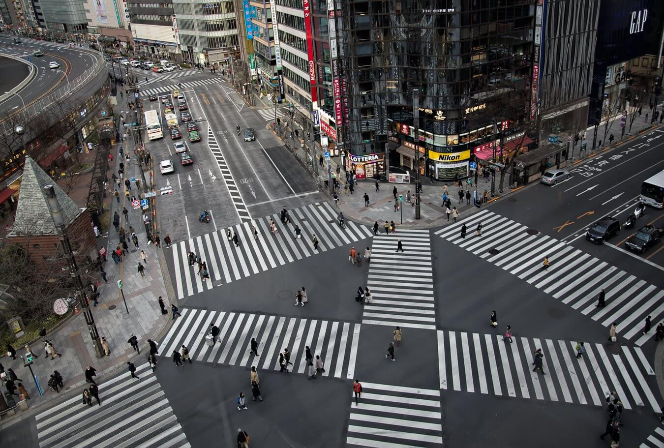 Ginza, Tokyo, Japan - Photo by Zed Sindelar of CuriousZed Photography