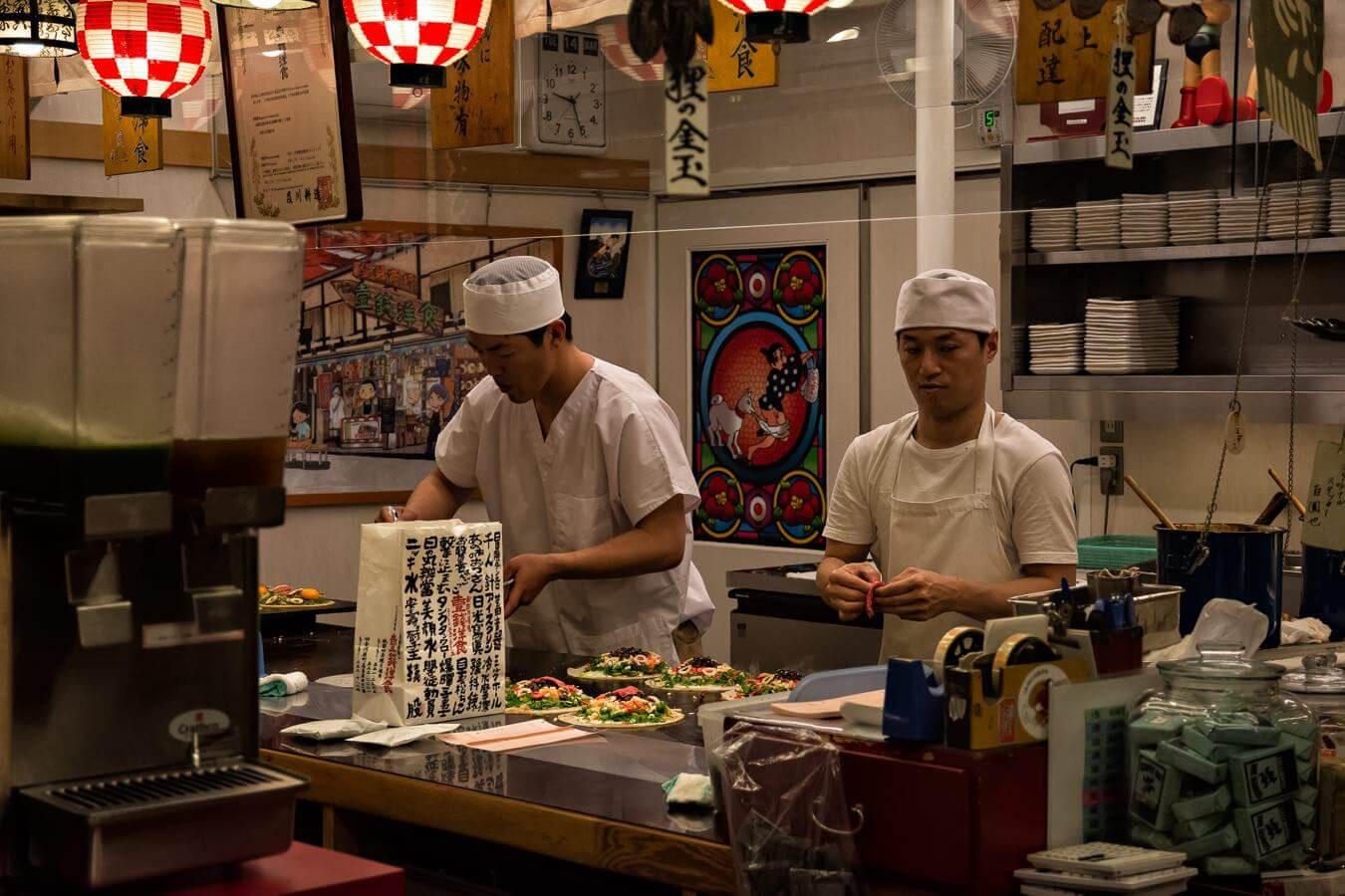 Restaurant in Tokyo, Japan - Photo by Zed Sindelar of CuriousZed Photography