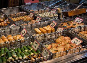 Street food in Osaka, Japan - Photo by Zed Sindelar of CuriousZed Photography