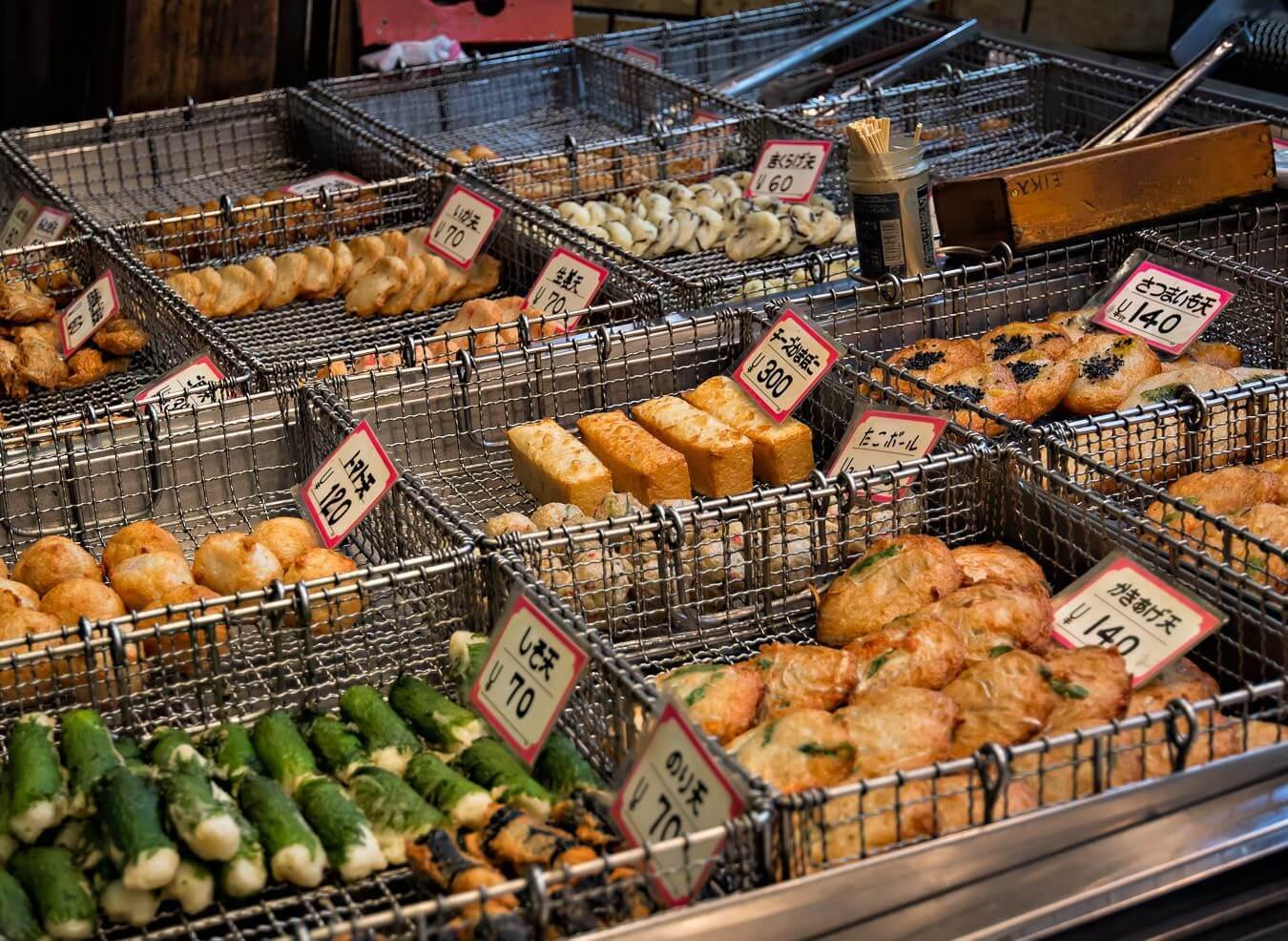 Street food in Osaka, Japan - Photo by Zdenek Sindelar of CuriousZed Photography