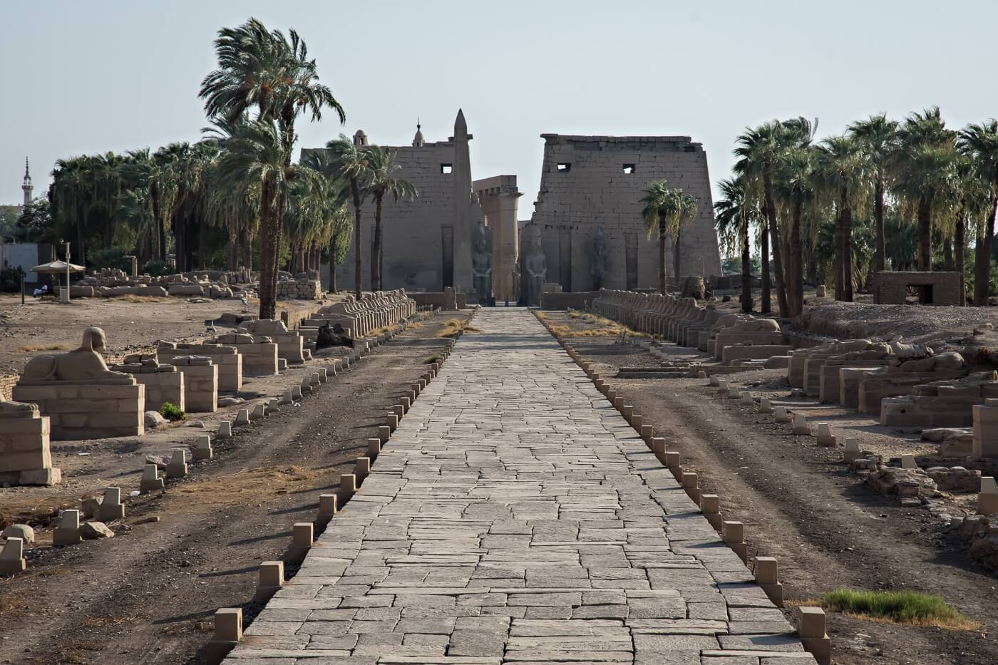 Luxor Temple, Luxor, Egypt - Photo by Zed Sindelar of CuriousZed Photography