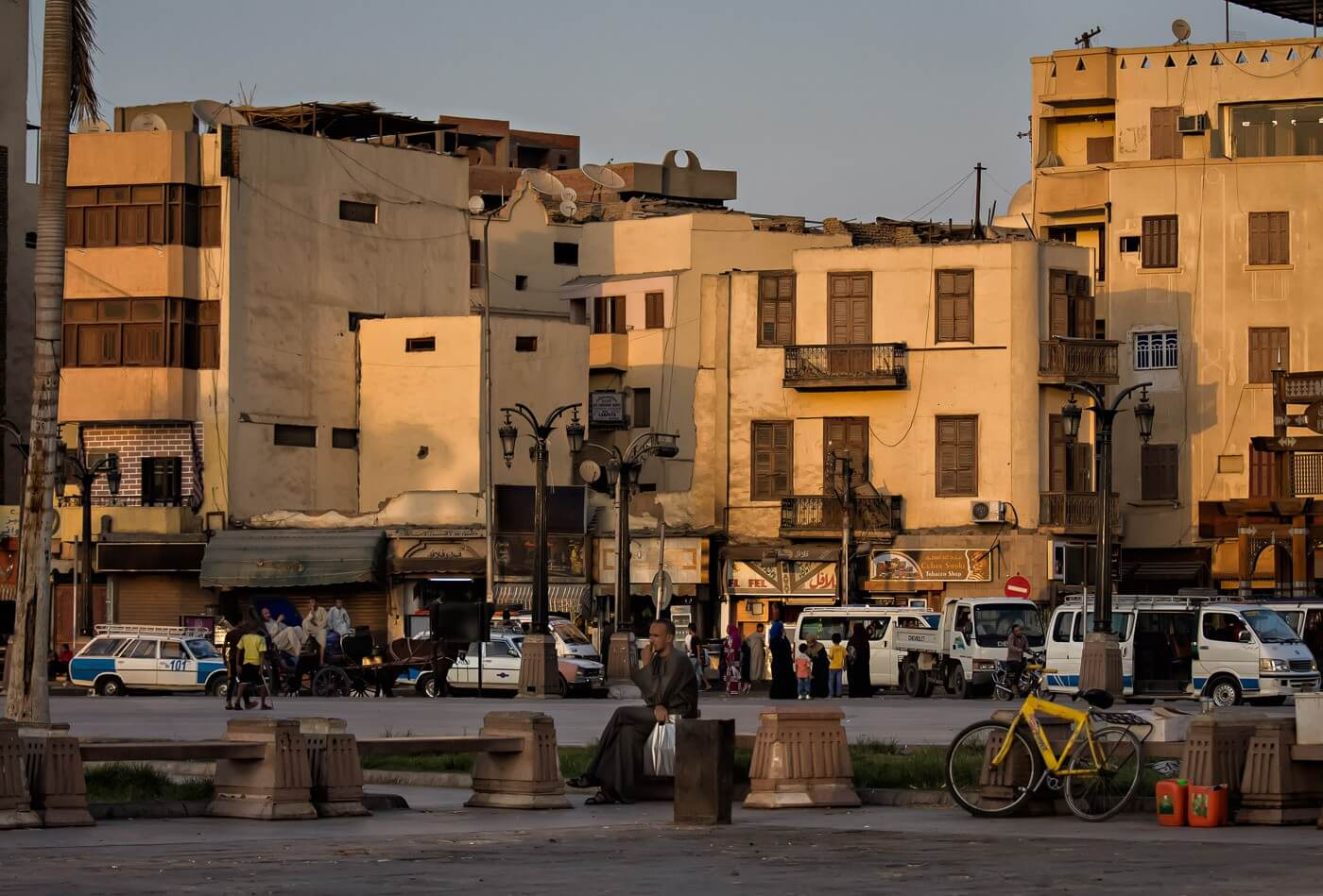 Main Square, Luxor, Egypt - Photo by Zed Sindelar of CuriousZed Photography