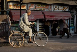 Man on a bicycle, Luxor, Egypt - Photo by Zed Sindelar of CuriousZed Photography