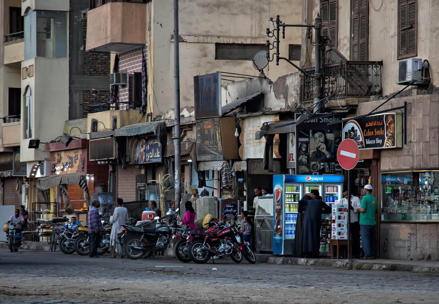 Street in Luxor, Egypt - Photo by Zdenek Sindelar of CuriousZed Photography