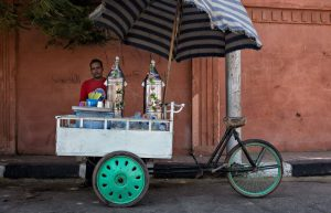 Street vendor of Karkade drink in Luxor, Egypt - Photo by Zed Sindelar of CuriousZed Photography
