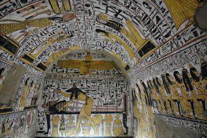 Thomb at Deir el Medina, Luxor, Egypt - Photo by Zed Sindelar of CuriousZed Photography