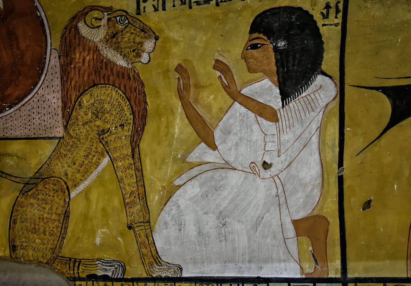 Tomb at Deir el Medina, Luxor, Egypt - Photo by Zdenek Sindelar of CuriousZed Photography