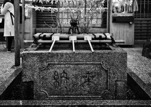 Purification Well, Shinto Shrine, Kyoto, Japan - Photo by Zdenek Sindelar of CuriousZed Photography