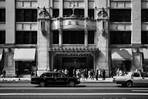 Mitsukoshi department store, Tokyo - Photo by Zdenek Sindelar of CuriousZed Photography