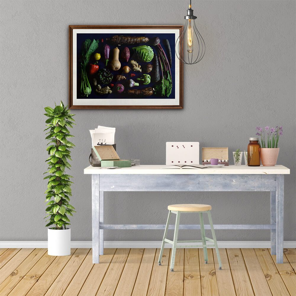 Abundante-framed-wall-art-CuriousZed-Zdenek-Sindelar