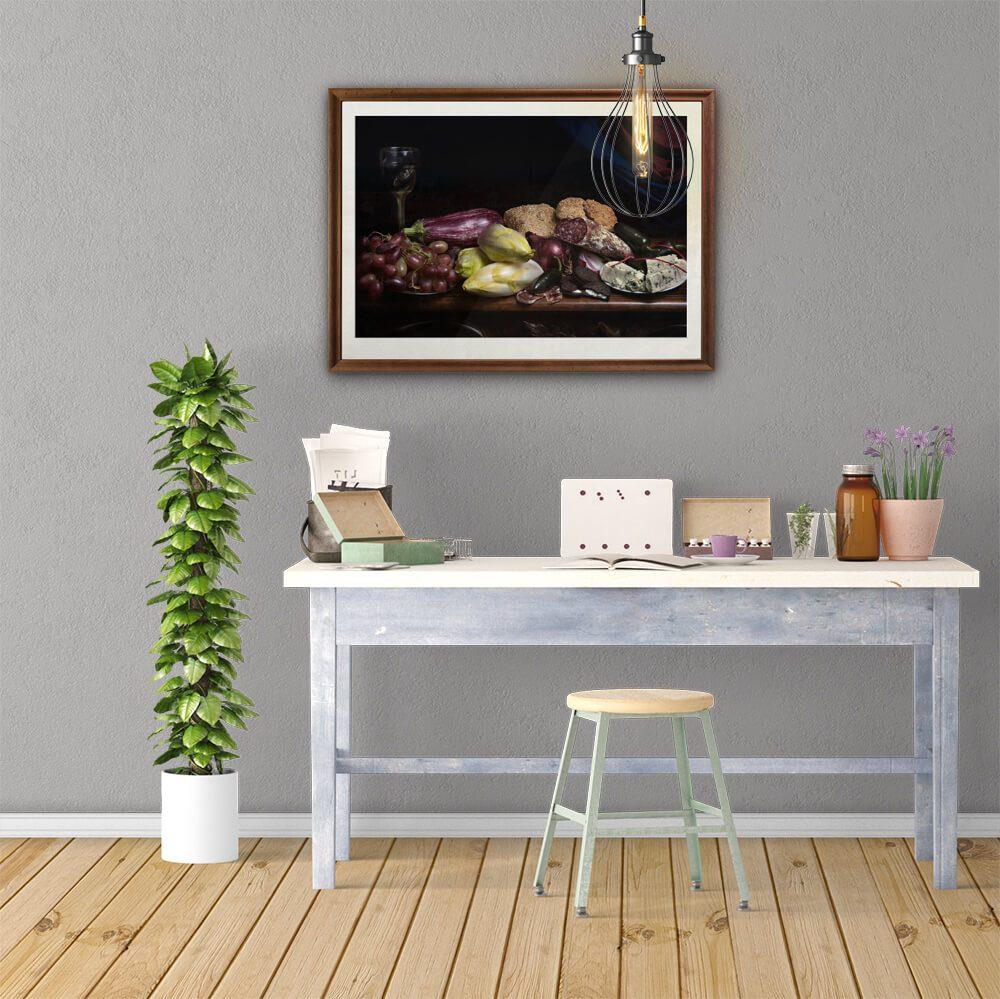 Cibum-framed-wall-art-CuriousZed-Zdenek-Sindelar