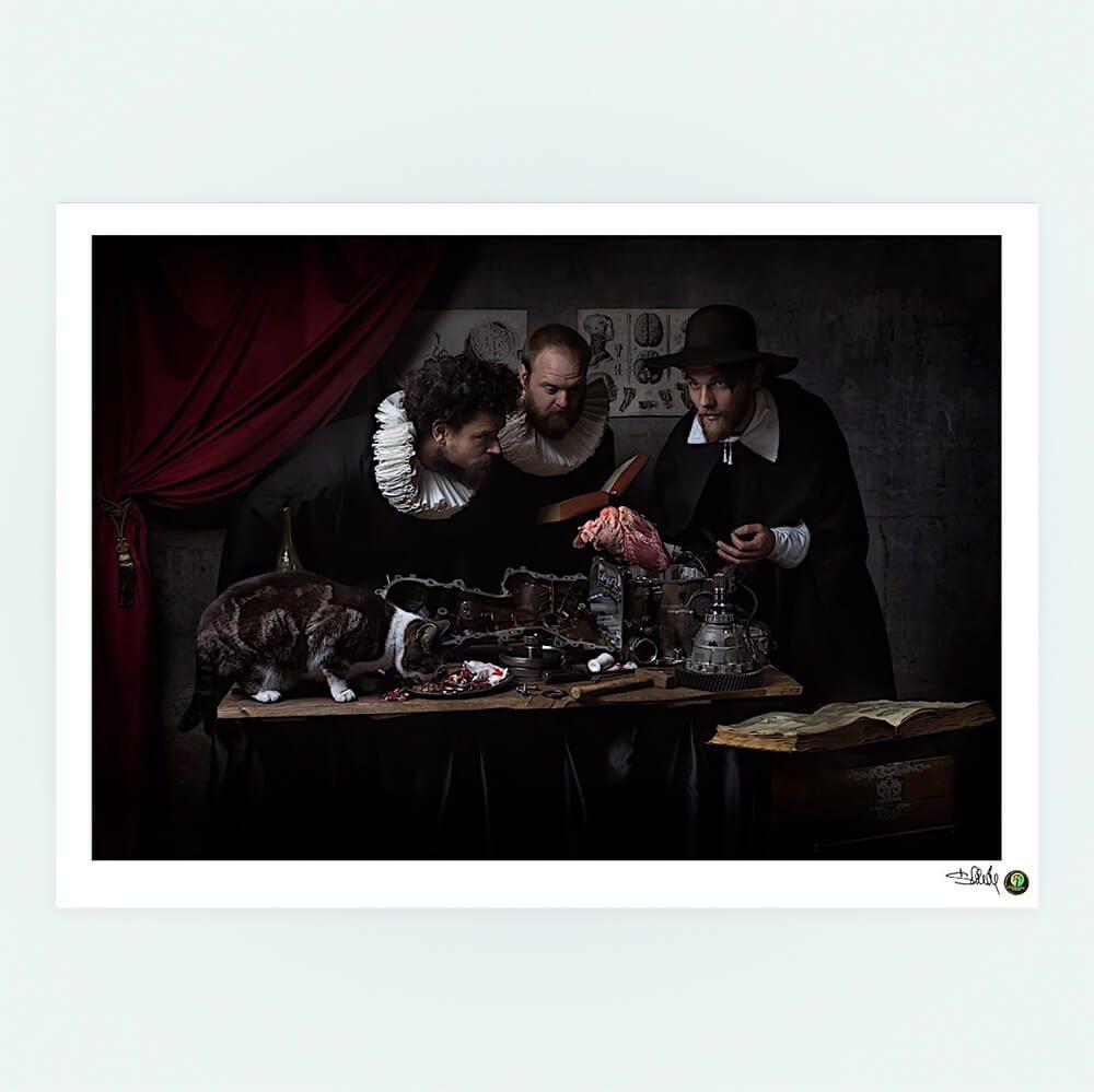 Lectio-fine-art-print-CuriousZed-Zdenek-Sindelar