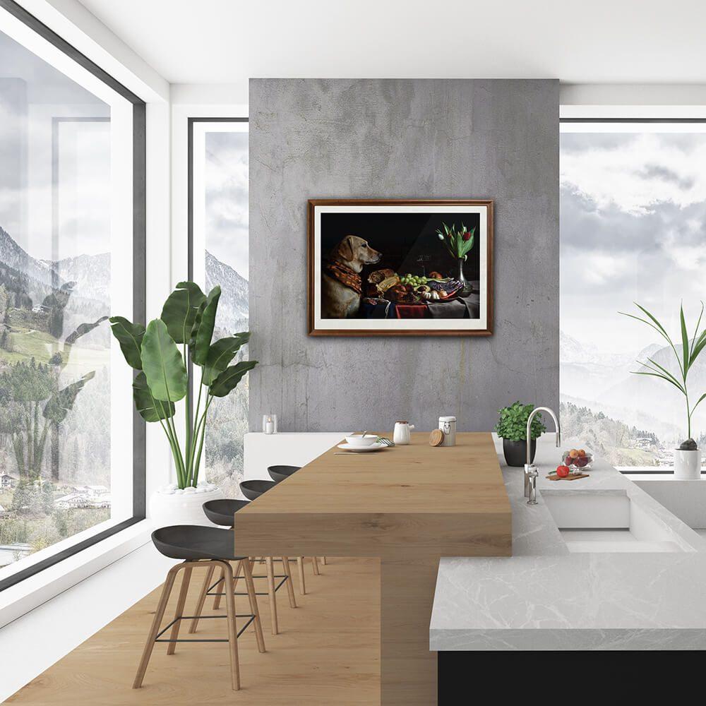 The-Supper-framed-wall-art-CuriousZed-Sindelar