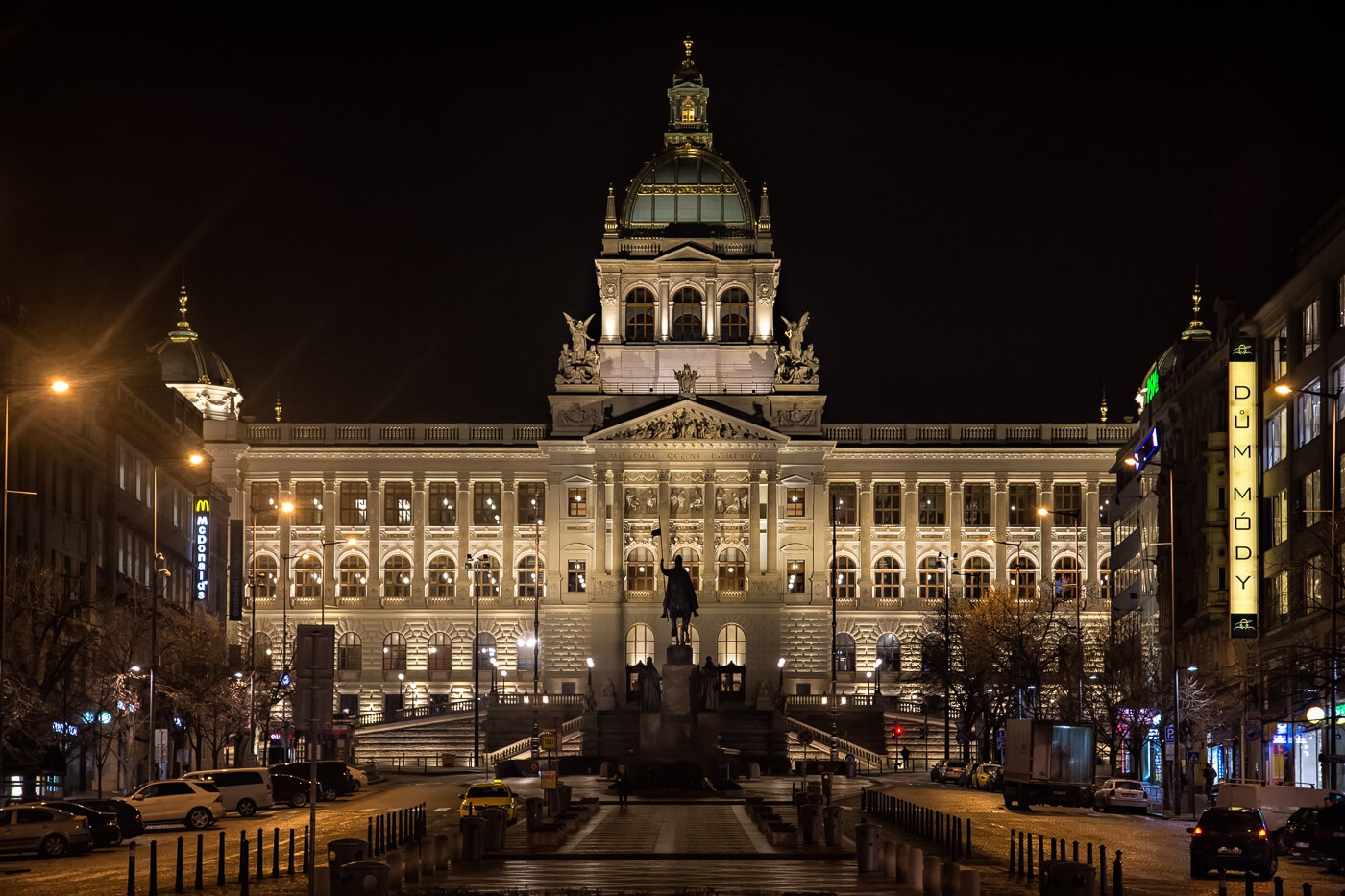 National Museum at the Wenceslas Square, Prague - Photograph by Zdenek Sindelar / CuriousZed