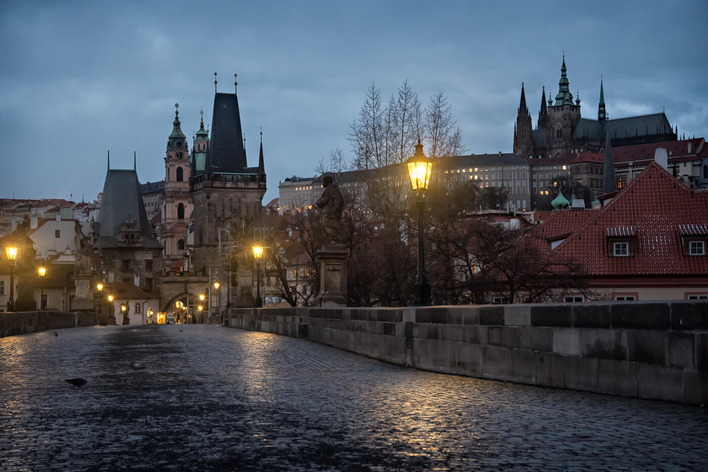 Charles Bridge, Prague - Photograph by Zdenek Sindelar / CuriousZed