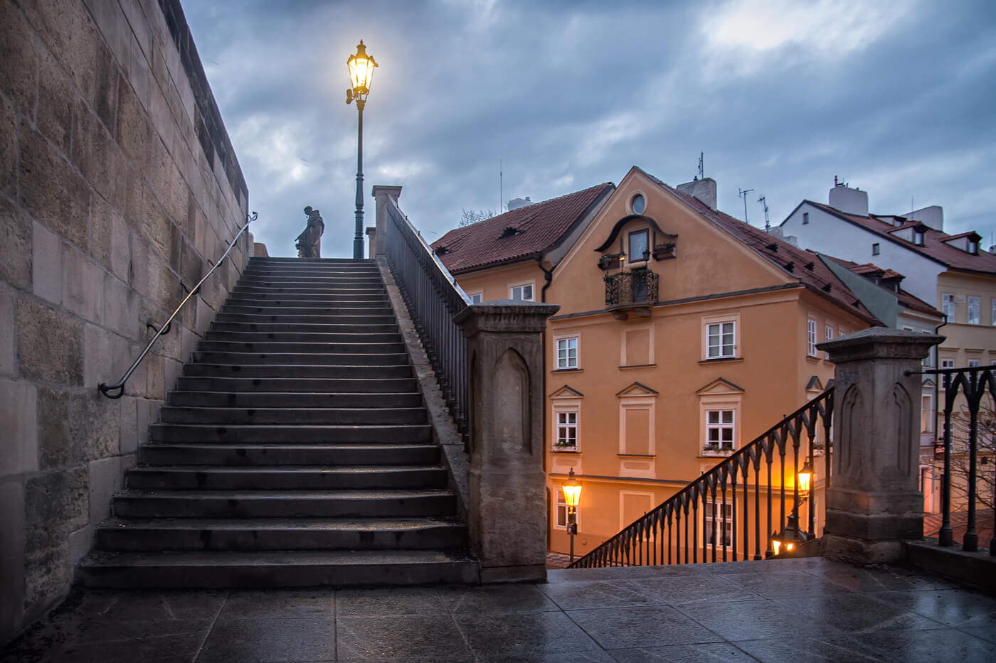 The Charles Bridge at Kampa Stairs, Prague - Photograph by Zdenek Sindelar / CuriousZed